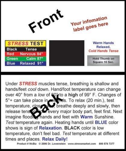 Stress Cards Mood Cards - MCBIZ heavy cardstock 100 by stressmarket.com