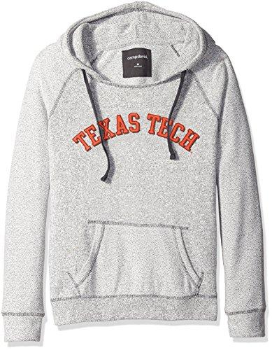 Camp David NCAA Horizon Damen Rückseite Sleeve und Pocket Kapuze, Damen, Horizon, Pepper/Charcoal, Medium