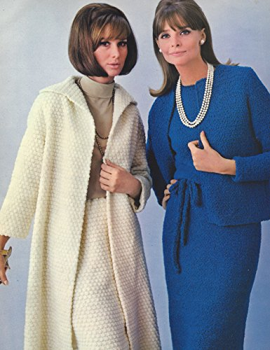 ERN/INSTRUCTIONS to make - Long Coat Skirt Suit Short Jacket Dress Suit. NOT a finished item. This is a pattern and/or instructions to make the item only. (Free Crochet Jacket Patterns)