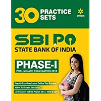 30 Practice Sets for SBI PO Phase-1 (E) 2018