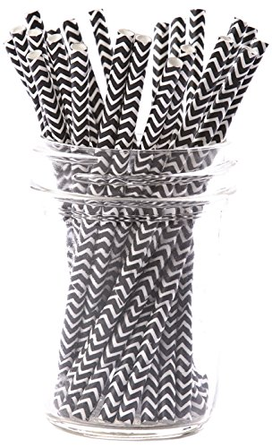 simply-baked-paper-cocktail-straw-pack-of-25-black-chevron-55-long-disposable-but-wont-disintegrate-