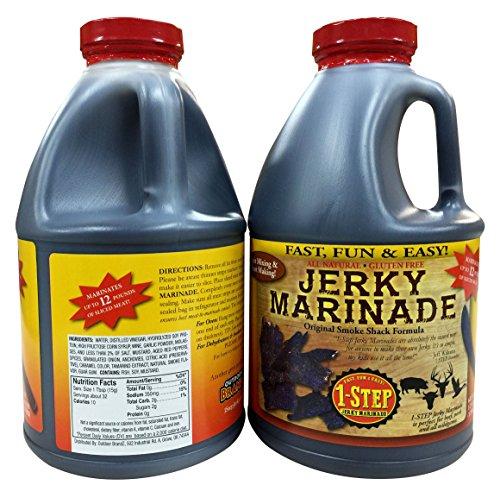 64oz 1 Step Jerky Marinade for Homemade Jerky-1SJM64 (Best Deer Jerky Marinade)