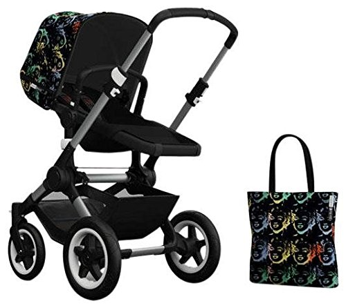 Bugaboo Buffalo Accessory Pack - Andy Warhol Marilyn/Black (Special Edition) by Bugaboo