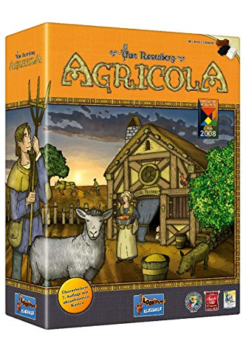 Agricola (Revised Edition) | 30-120 Minutes | Worker Placement Board Game