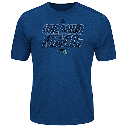 Majestic NBA Men's Future Highlight Play Performance T-shirt (Large, Orlando - Magic Orlando T-shirt