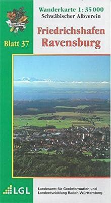 Karte Des Schwabischen Albvereins 37 Friedrichshafen Ravensburg