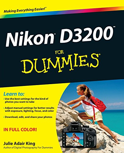 Nikon D3200 For Dummies cover