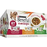 Purina Beneful Medleys Variety Pack 27 Count, 9 Tuscan Style, 9 Romana Style, 9 Mediterranean Style