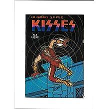 LOS INCREIBLES SUPER KISSES #3 [1970's? VG] PETER CRISS COVER MEXICAN COPY
