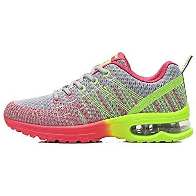 Ausom Women's Fitness Air Cushion Workout Trail Running Shoes Fashion Sport Gym Jogging Walking Sneakers | Walking