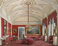 ポリエステルキャンバス、模造品アートDecorativePrintsのキャンバスの油絵` Hauエドワード・Petrovich、2番目のアパート、図面の部屋、1807–1887`、24x 31インチ/ 61x 78cm is bestガレージの装飾、ホームデコレーションとギフトの商品画像