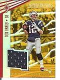 Football NFL 2017 Phoenix Veteran Materials Orange #6 Tom Brady MEM 3/10 Patriots