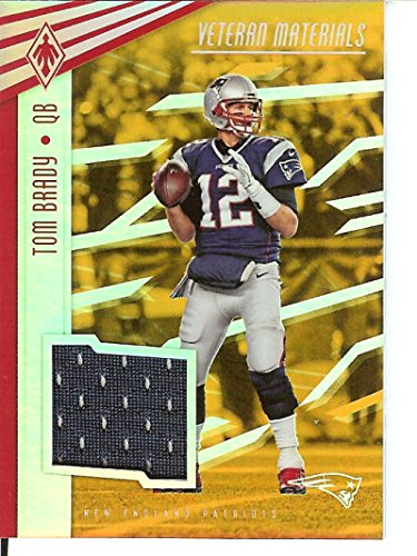 Football NFL 2017 Phoenix Veteran Materials Orange #6 Tom Brady MEM 3/10 Patriots by tom brady