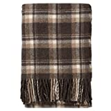 Pendleton Windowpane Plaid Alpaca Throw