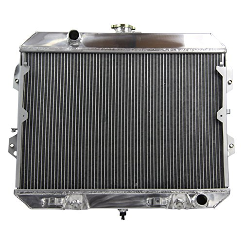 ALLOYWORKS 3 Row Core Aluminum Radiator for Nissan Datsun 280ZX 1981 1982 1983