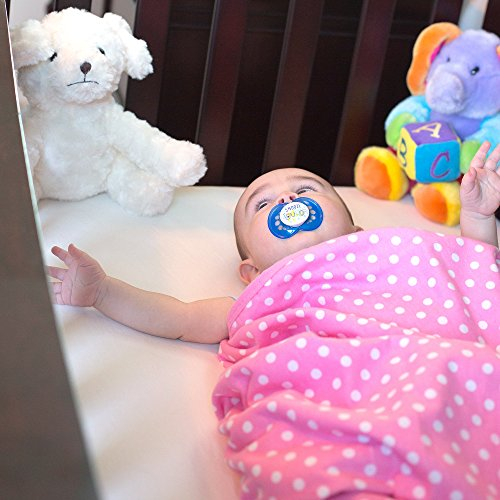 SYB Cotton Flannel Baby Blanket; EMF Anti-Radiation Protector for Your Baby (Pink) by SYB (Image #2)