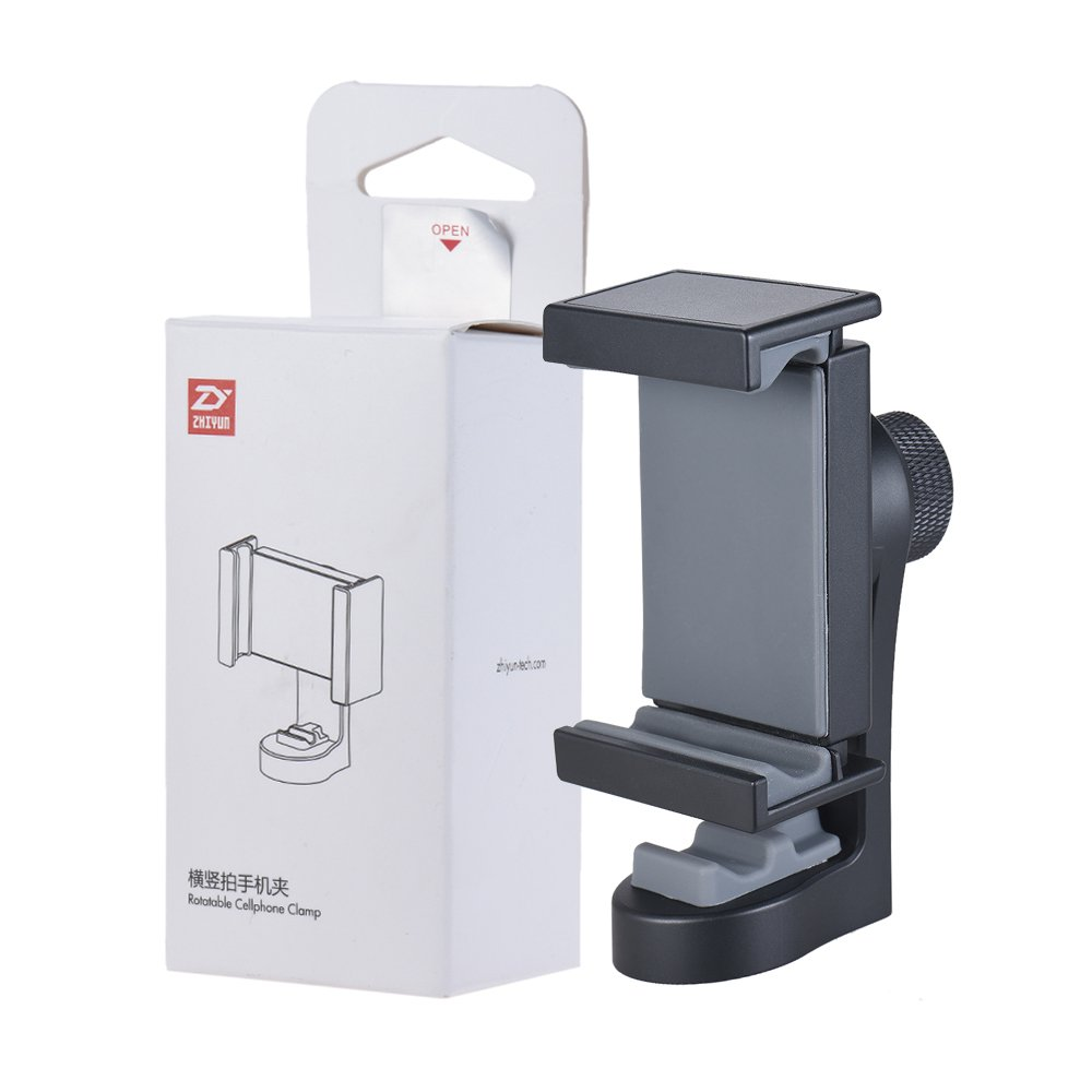 Zhiyun Rotatable Cellphone Clamp Tripod Mount Vertical