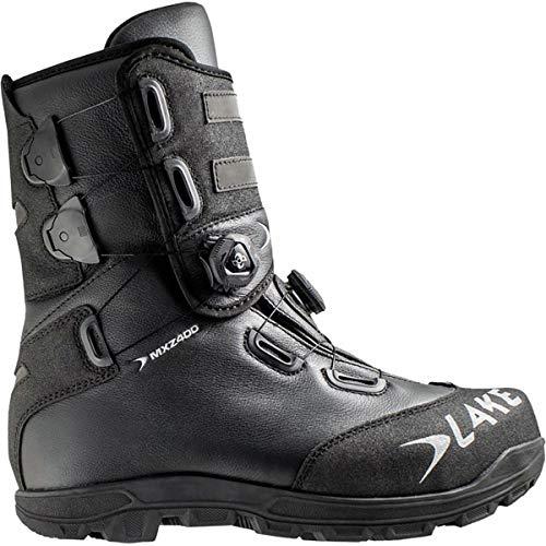 Lake MXZ400 Winter Cycling Boot - Men's Black/Silver, 46.0