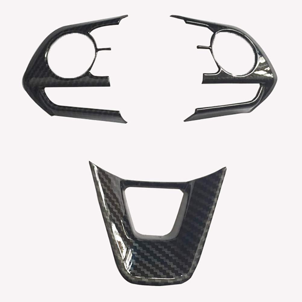 3.9 carbon fiber Aoile para Toyota Sedan Corolla E210 Prestige Altis 2019 2020 cubierta decorativa para volante de coche accesorios interiores ABS