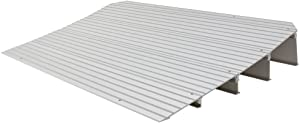 """Rage Powersports THR4 4-1/4"""" High Aluminum Threshold Ramp for Wheelchairs, Scooters, and Power Chairs"""