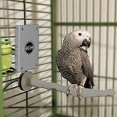 K&H Pet Products Snuggle-Up Bird Warmer Gray - 12 Volt from Kh Manufacturing