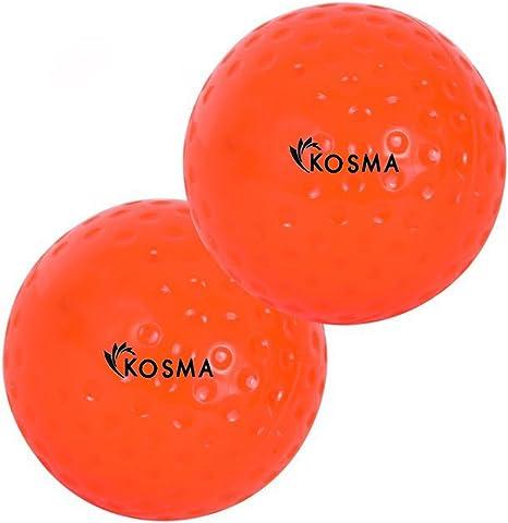 Kosma KG-26058 Bola de Hockey, Naranja, Talla única: Amazon.es ...