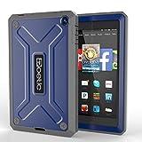 Poetic Revolution Rugged Hybrid Case for Amazon Fire HD 6 Cobalt