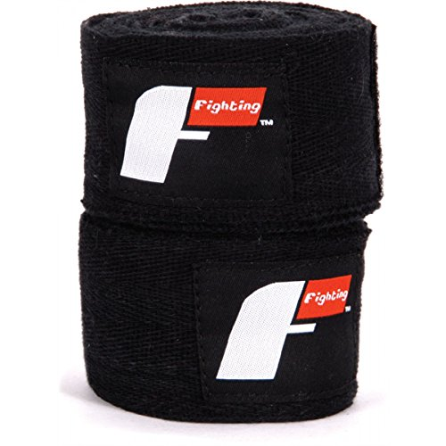 Fighting Sports Pro Traditional Hand Wraps, Black, 2