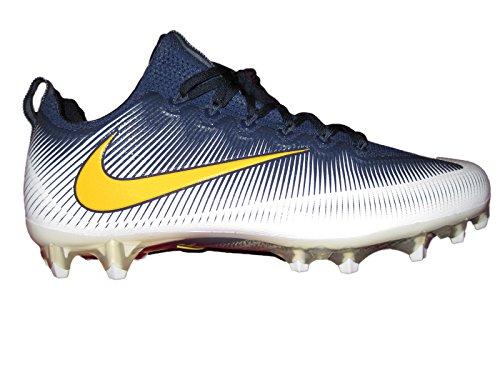 NIKE Men's Vapor Untouchable 2 Football Cleat Navy Blue/White/Yellow in China sale online TnTyvrD