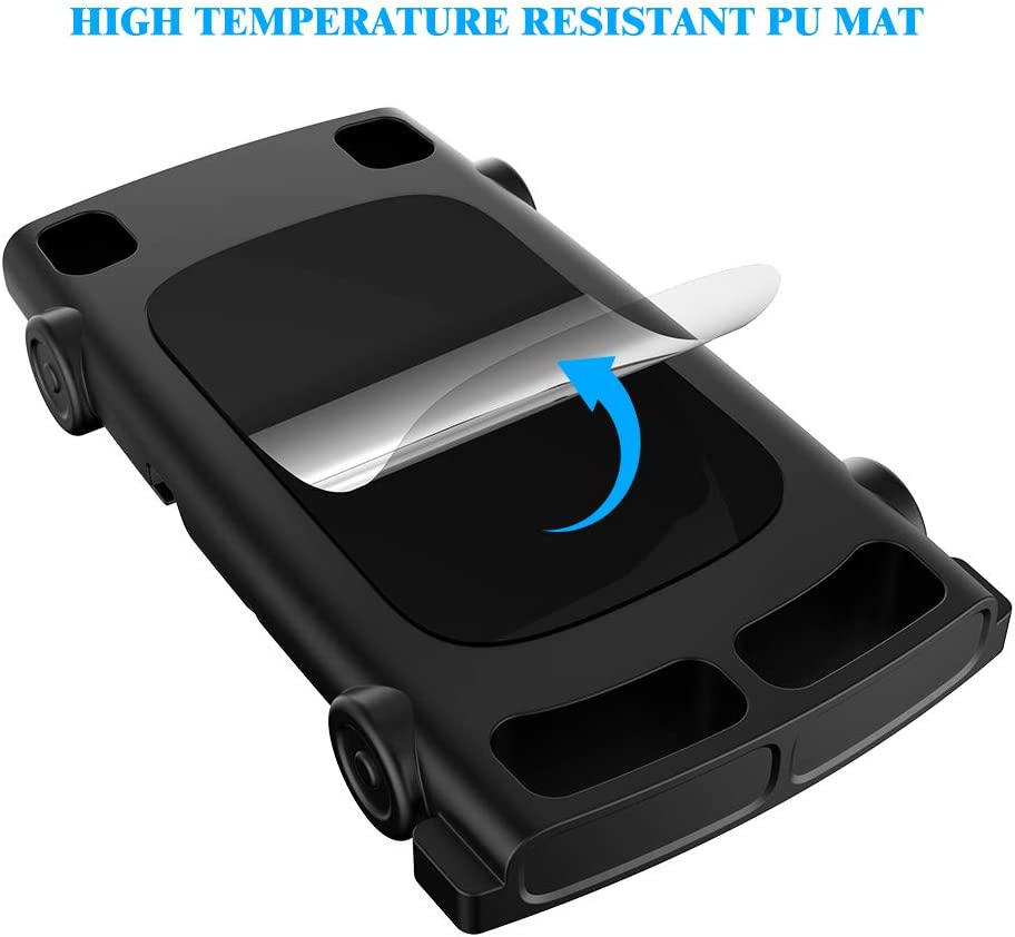 YB-OSANA Car Dashboard Phone Mount Holder Car Non-Slip Silicone Pad Mat Phone Holder Car Phone Cradle for iPhone Xs MAX//XR//8 Plus//7 Plus//6//6S Plus//Samsung Galaxy S10//S10// Plus//Note 10 Car GPS Holder