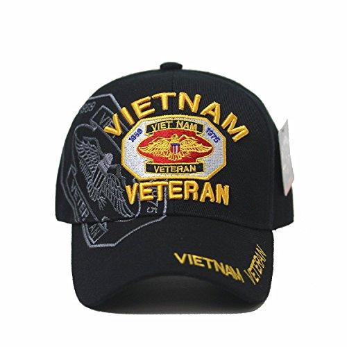 Vietnam Veteran 1959 ~ 1975 U.S. Military Cap Hat official ()