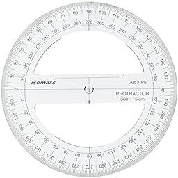 Isomars Protractor 360°