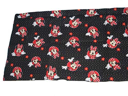 Minnie Mouse Polka Dots hecho a mano algodón cortina de ventana cenefa