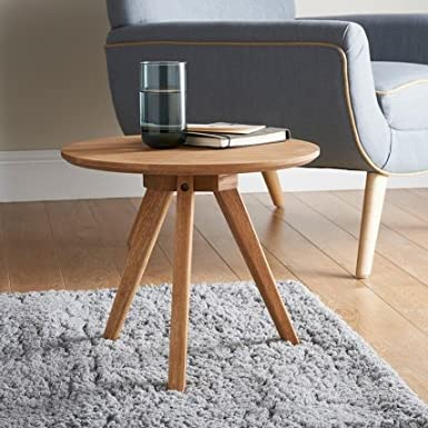 Jarvis Oak Side Table Amazon Co Uk Electronics