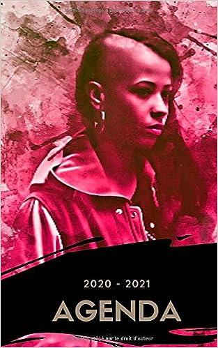 Agenda 2020   2021: Agenda scolaire Journalier Adolescente Rap Ado