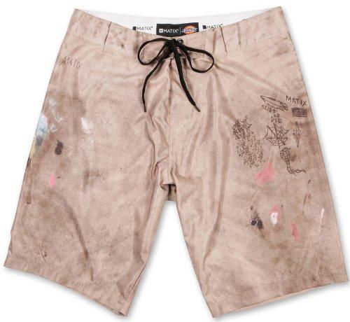 Matix Men's Dickies 874 Boardshorts 34 Khaki - Short Matix Clothing