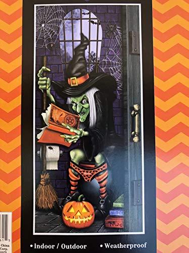 PRC Halloween Door Covers- Skeletons, Zombies, Witch,Evil Clown,