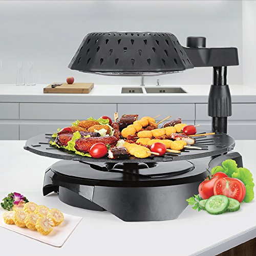 Cook@Home 3D Electric Smokeless Bio Infrared BBQ Grill - No Oil, No Thawing, No Smoke