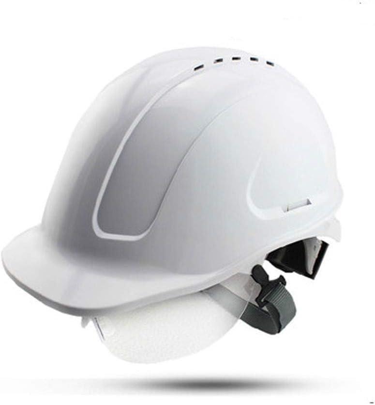 CXQBYNN Casco de seguridad Casco industrial con gafas de seguridad ...