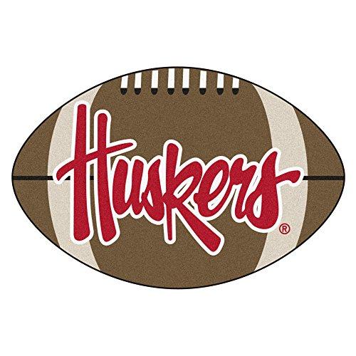 University of Nebraska Huskers Football Area Rug