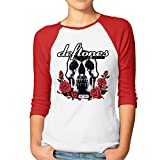 Women's 3/4 Sleeve Deftones Funny Deftones Shirts Retro