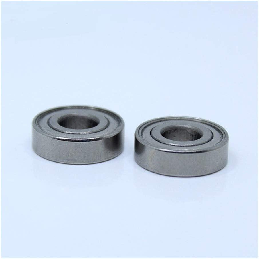 ABEC-1 440C Roller Stainless Steel S697Z S697 Z ZZ Ball Bearings 7175 mm JINLI-CASE Durable S697ZZ Miniature Deep Groove Ball Bearing 10PCS