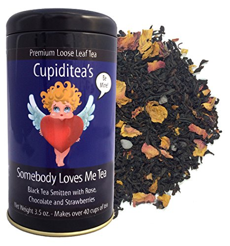 (Cupiditea's Somebody Loves Me Tea (Chocolate Strawberry Black Tea) )