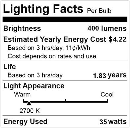 RV CBconcept 120V AC 20 Watts Puck Light Frosted Designed in CA 10 Bulbs Landscape Microwave JCD G8 Bi-Pin 20W Halogen Light Bulb Range Standard 37mm Chandelier Accent Lighting