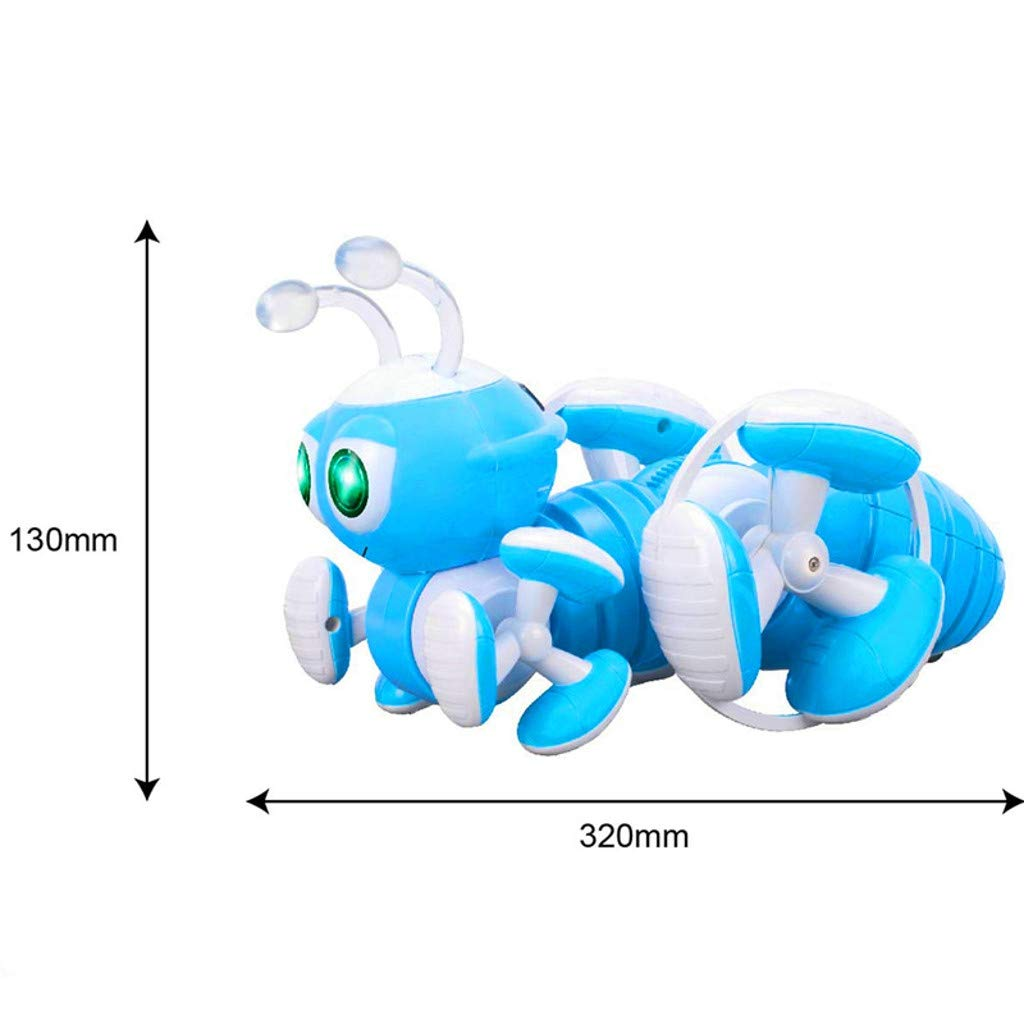 DDLmax Multi-Function Remote Control Ant Toy Programmable Music Dance Tell Story RC Toy by DDLmax (Image #4)