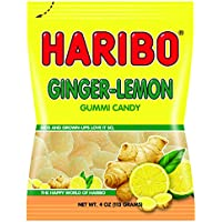 2-Pack Haribo Ginger Lemon Gummy Candy