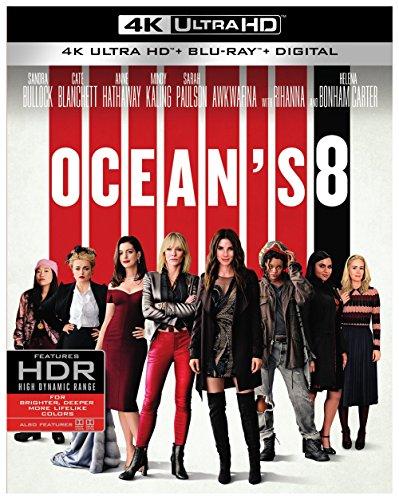 Ocean's 8 (4K Ultra HD + Blu-ray + Digital) (4K Ultra HD)