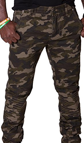 Camouflage Pan Skinnycamoforest Homme Pantalons Vert Skinny Pantalon Cargo Hommes Pour wqPqSt