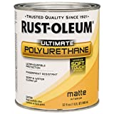 Rust-Oleum Not Available 260165 Soft Touch Polyurethane, Quart, Matte
