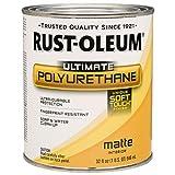 Rust-Oleum 260165 Soft Touch Polyurethane, Quart, Matte
